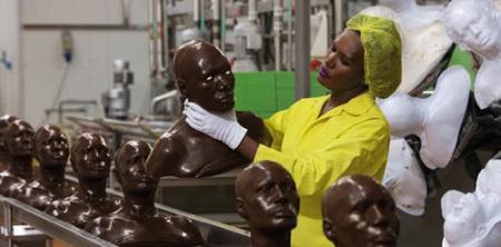 Grace Jones in Chocolate!!!