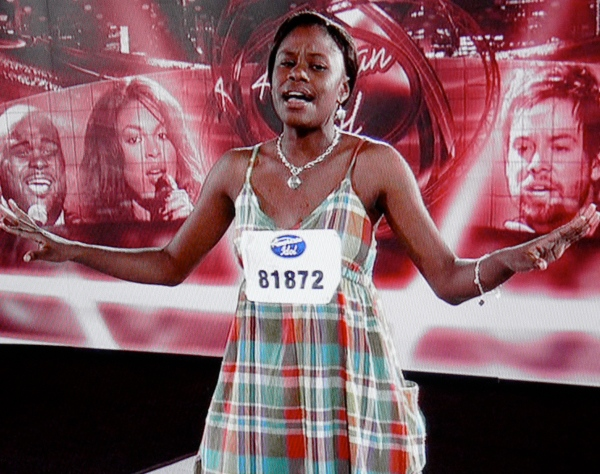 Kaneswesa. She sang all around Jacksonville but...