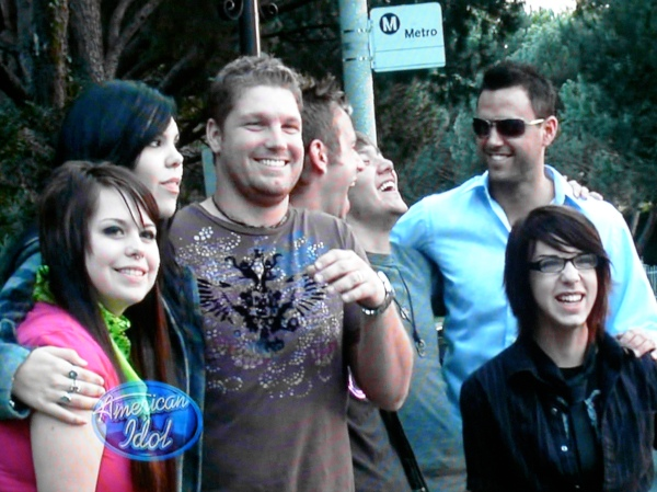 American Idol contestants romp in Hollywood