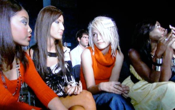 Jasmine Murray, Bikini Butterface, Rose Flack and Lauren Barnes pretend to play nice