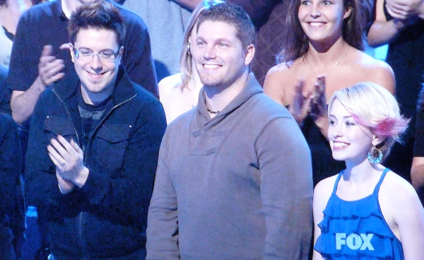 Danny Gokey, Michael Sarver and Alexia Grace