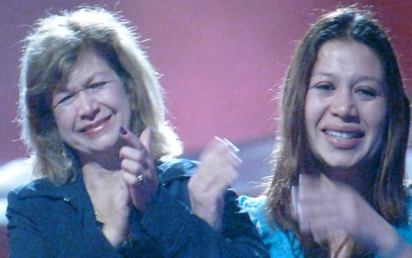 Alison Iraheta's Mom and Sister