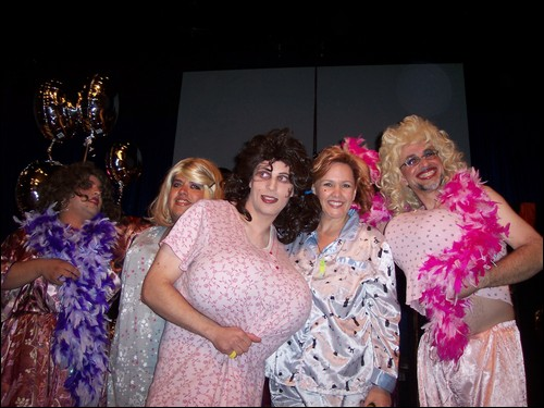 FBIM ministers in drag at pajama party