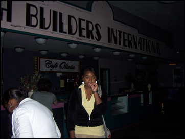 Faith Builders International Lobby