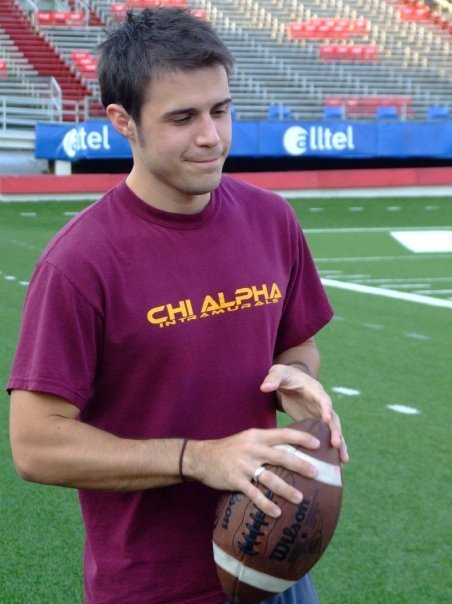 Kris Allen: Doll comes with football and purity ring