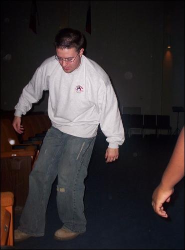 Danny Gokey dancing