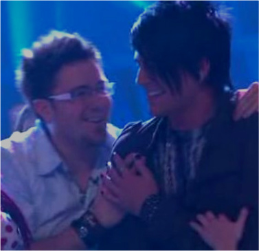 More Love between Adam Lambert and Danny Gokey