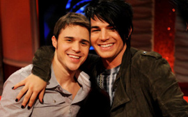 Kris Allen and Adam Lambert: As imagined by a fan