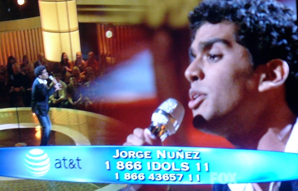 Jorge Nunez gets split screen treatment