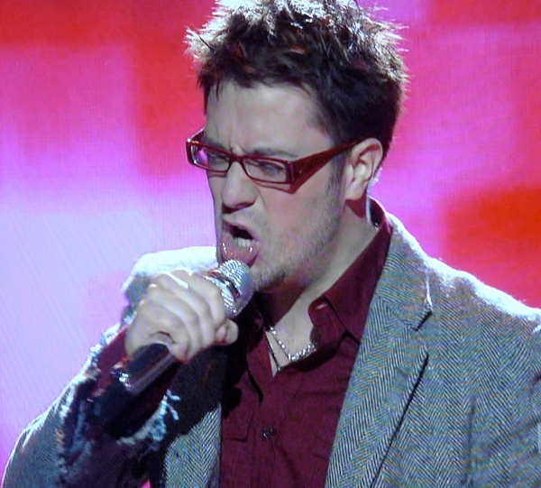 Danny Gokey: Did not mention dead wife tonight
