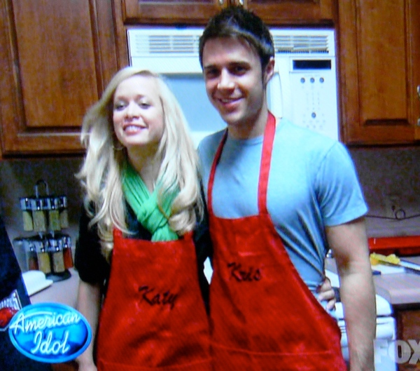 Kris Allen made an album before Idol. But did he wear his apron?