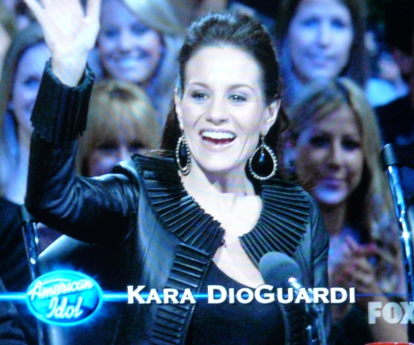 Kara DioGuardi: Cougar Funeral Attire