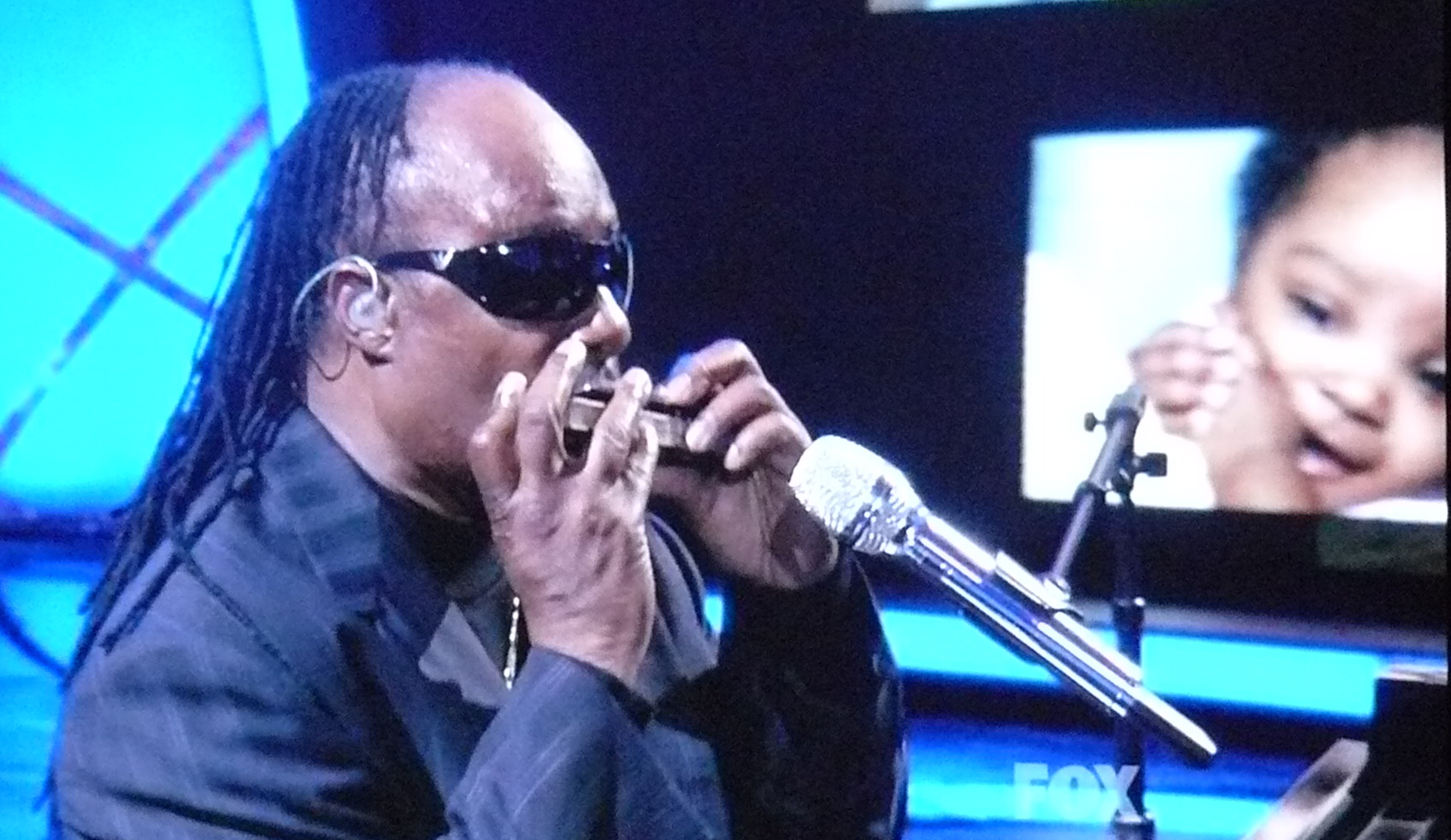 stevie wonder with harmonica
