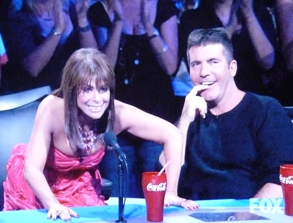 Paula Abdul foams at the mouth and Simon thinks about naughtiness