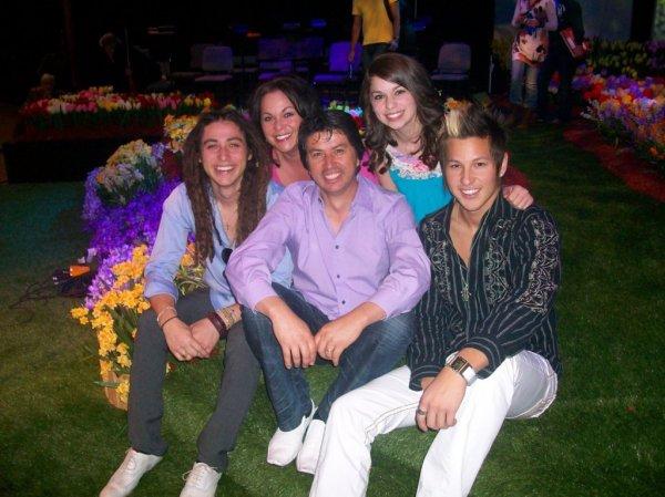 Castro Family Easter Photo