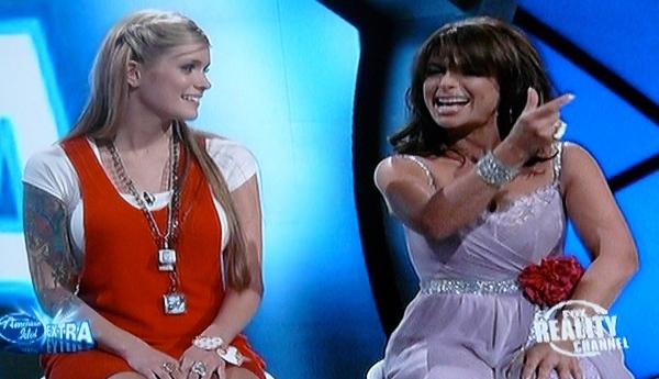 Megan Joy and Paula Abdul