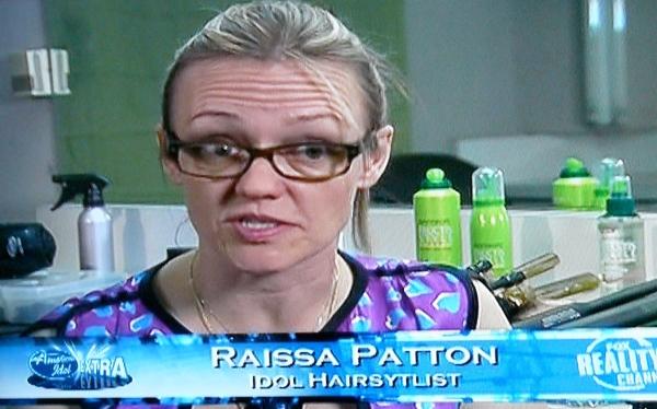 Raissa Patton: American Idol's Hairstylist