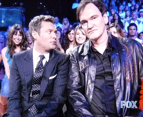 Seacrest and Tarentino: Post-Modern Odd Couple