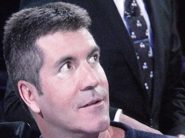 A photo of Simon Cowell for my dear mother