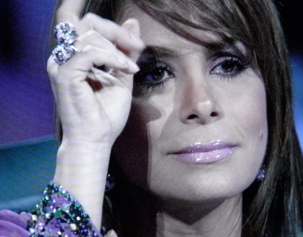 Paula Abdul is still creaming herself over Adam Lambert