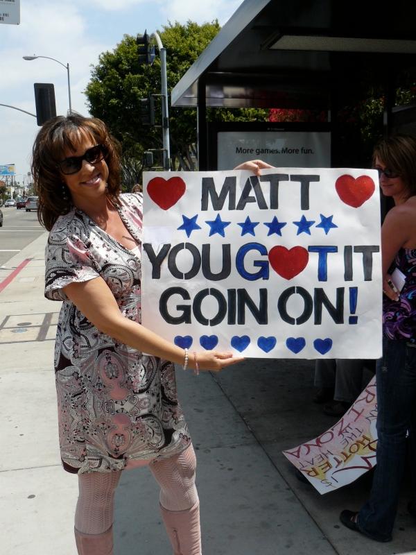 "Matt Giraud fan...also Danny Gokey ""Cougar"""