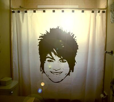 Adam Lambert Shower Curtain