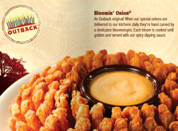 American Idol contestants eat Bloomin' Onions at Outback