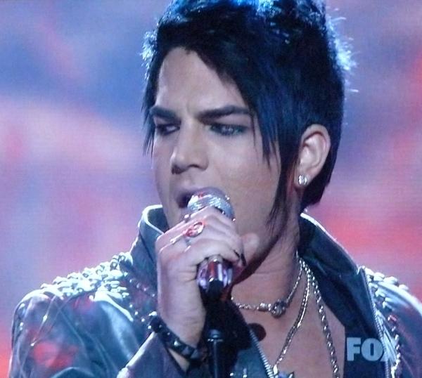 Adam Lambert sings Whole Lotta Love on American Idol