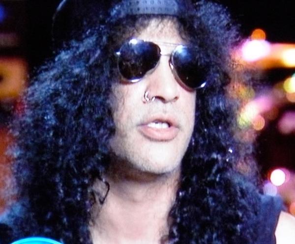 Slash on American Idol