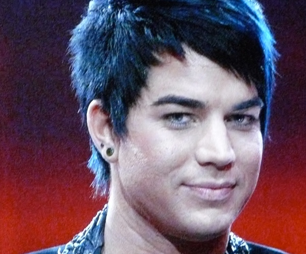 Adam Lambert's not-so-great complexion