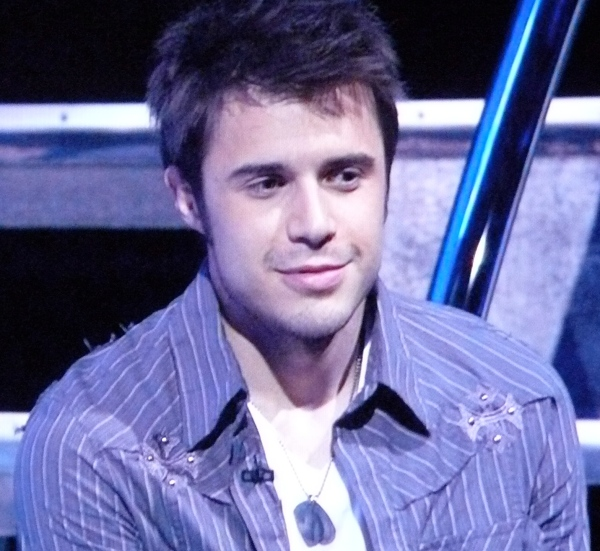 Kris Allen is safe but wearing a bad shirt