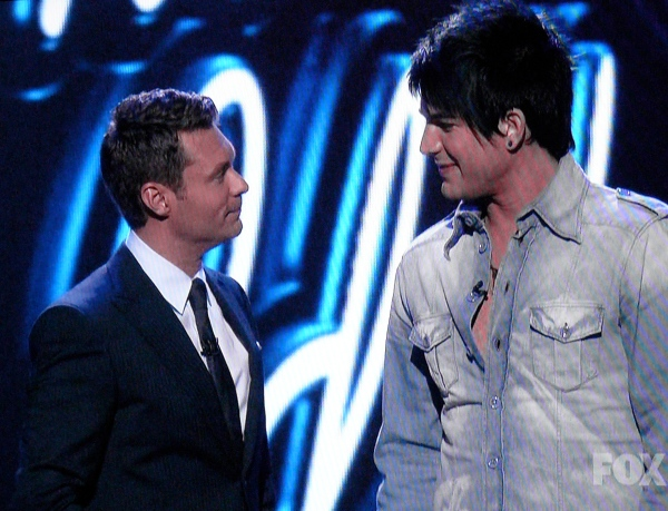 Adam Lambert is taller than Ryan Seacrest