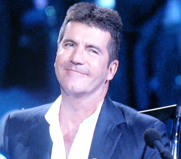 Simon Cowell in a collared shirt