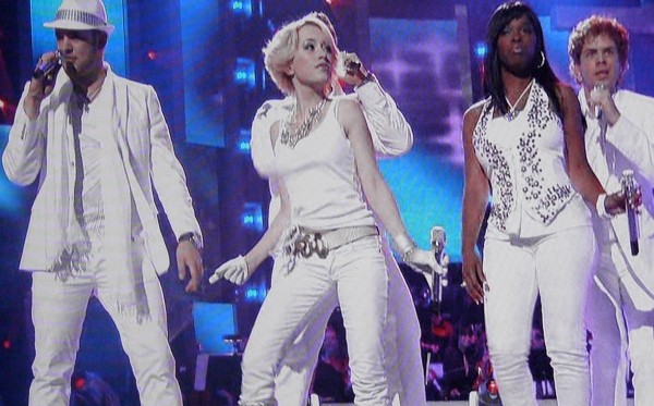 American Idol contestants are always forced to wear white at some point