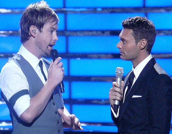 David Cook talks about Permanent to Ryan Seacrest