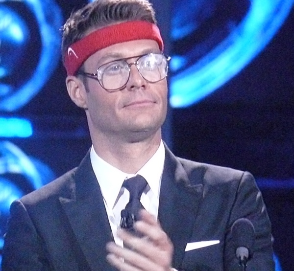 Ryan Seacrest cannot pull off Normund Gentle's look