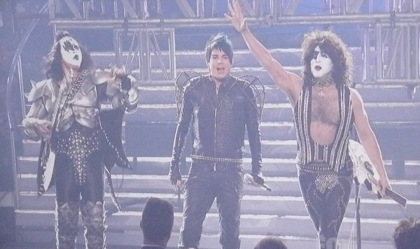 Adam Lambert and Kiss