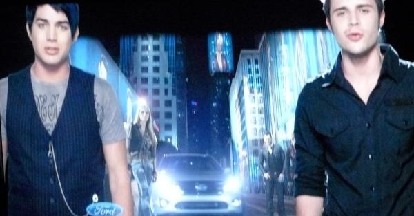 Final Ford Commercial: Adam Lambert and Kris Alen