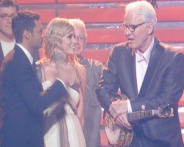 Steve Martin totally wants Megan Joy...and to win Idol