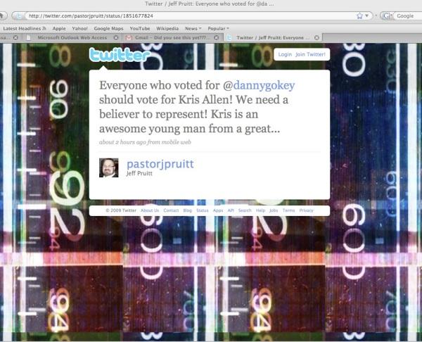 Pastor Rolex tweets more asshattery