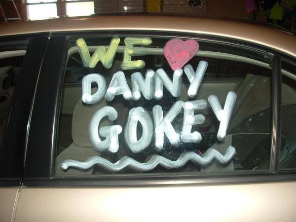 Side shot of Gokey Tard Car