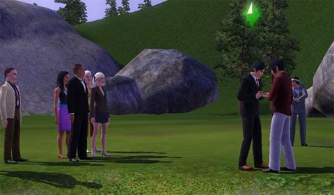 Adam Lambert in The Sims 3