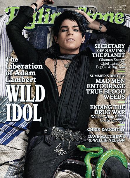 Adam Lambert on Rolling Stone