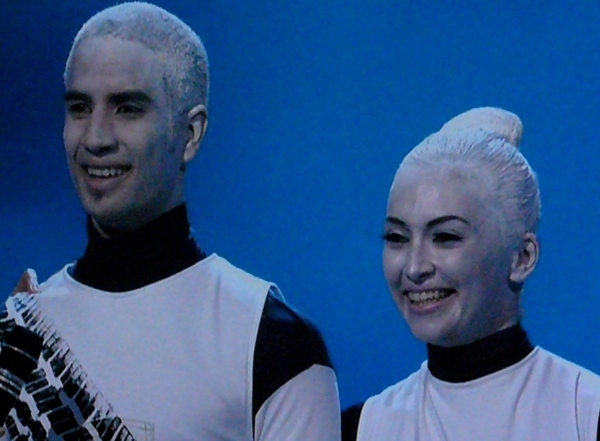 SYTYCD -- Kupono & Ashley as crash test dummies