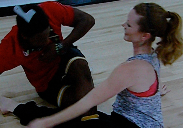 "SYTYCD -- Ade dances with a pick and awesome ""Naughty Ballerina"" Melissa"