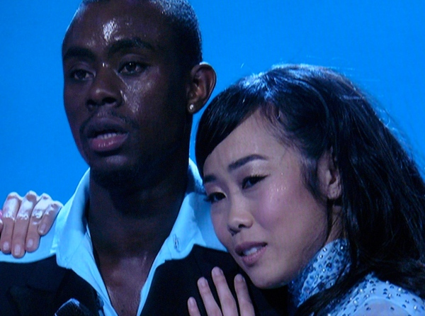Vitolio & Asuka bask in judges' comments about Waltz -- SYTYCD