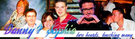 Danny and Sophia Gokey message board signature