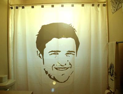 Kris Allen Shower Curtain