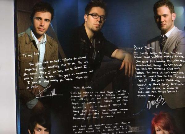 American Idol Tour Program (Kris Allen, Danny Gokey, Matt Giraud)
