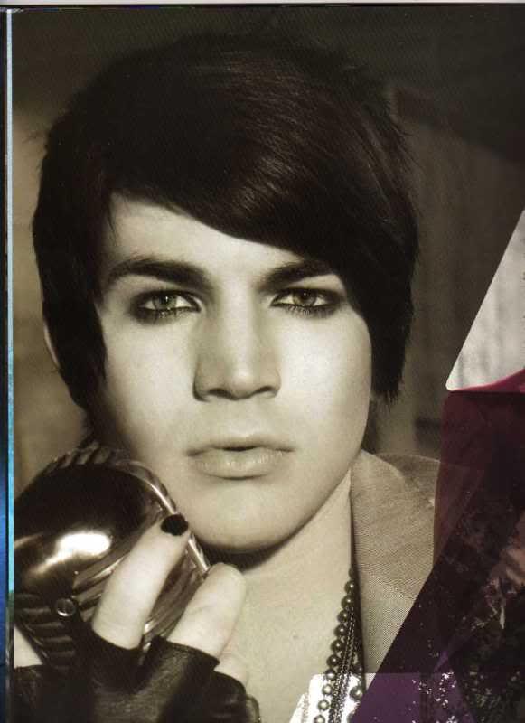 Adam Lambert -- American Idol Tour Program